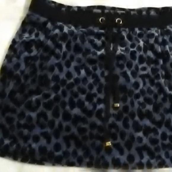 Victoria's Secret Dresses & Skirts - blue cheetah skirt